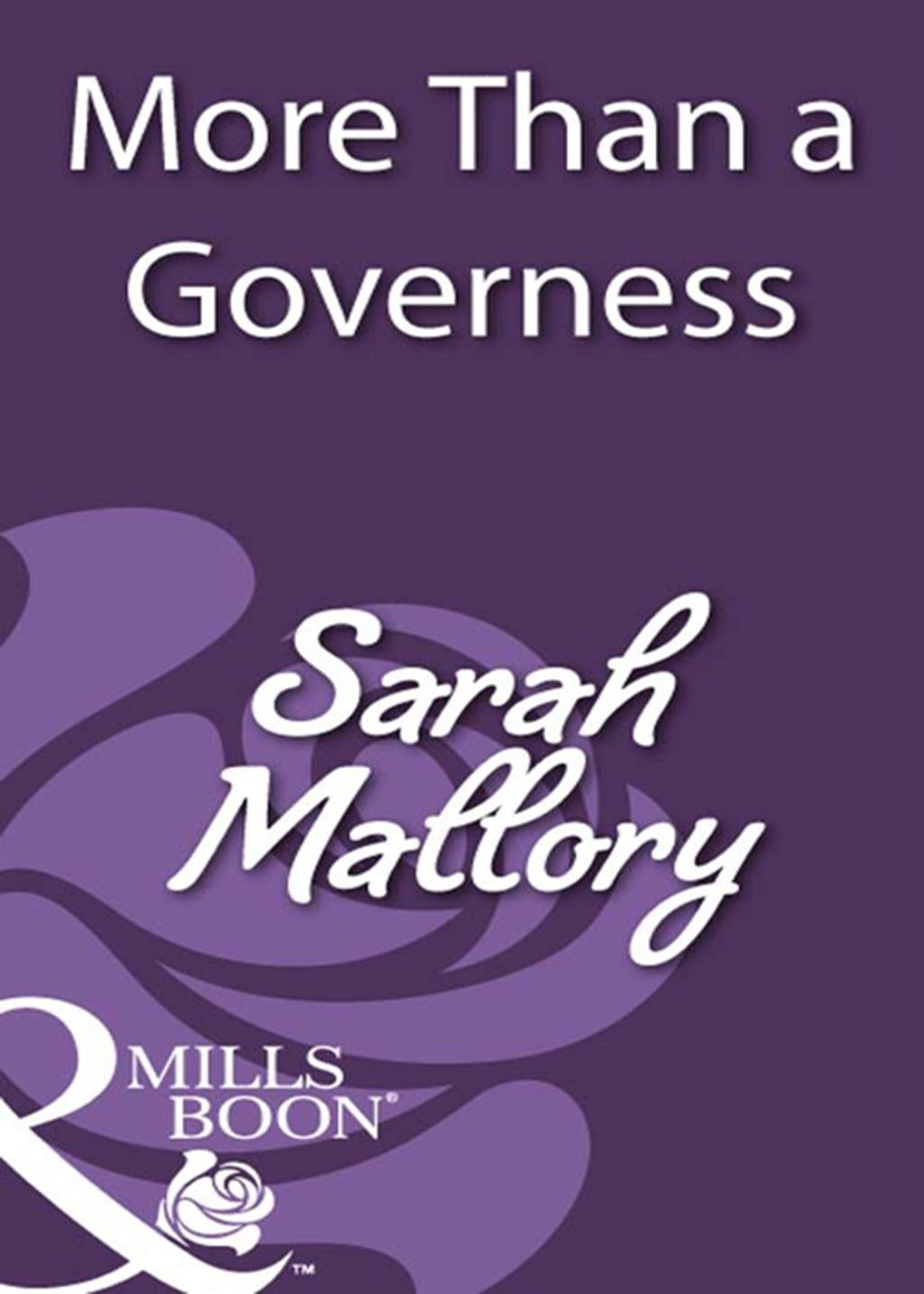 More Than a Governess (Mills & Boon Historical)