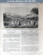 LES MISSIONS CATHOLIQUES  numéro 1776 du 19 juin 1903