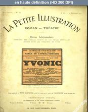 LA PETITE ILLUSTRATION THEATRE  numéro 30 du 20 septembre 1913