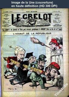 LE GRELOT  numéro 908 du 02 septembre 1888
