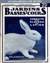 JARDINS BASSES ET COURS numéro 476 du 20 avril 1934