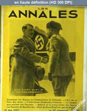 LES ANNALES  du 10 mai 1937