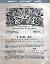 LE MAITRE DE MUSIQUE  numéro 15 du 01 août 1881