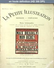 LA PETITE ILLUSTRATION THEATRE  numéro 72 du 18 juillet 1914