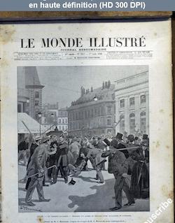 LE MONDE ILLUSTRE  numéro 2053 du 01 août 1896