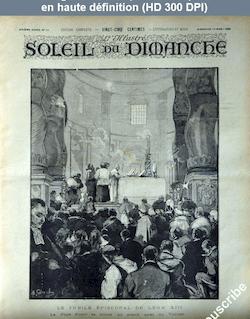SOLEIL DU DIMANCHE numéro 12 du 19 mars 1893
