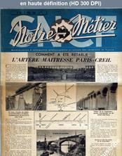 NOTRE METIER LA VIE DU RAIL numéro 53 du 05 avril 1946