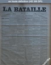 LA BATAILLE  numéro 779 du 03 mars 1891