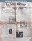 LE PETIT PARISIEN  du 18 novembre 1941