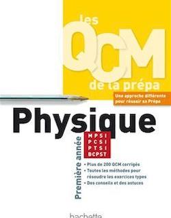 Physique MPSI/PCSI/PTSI