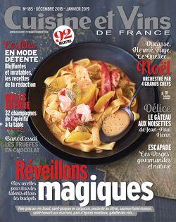 Cuisine et Vins de France du 22-11-2018 - Cuisine et Vins de France