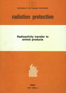 Radioactivity transfer to animal products