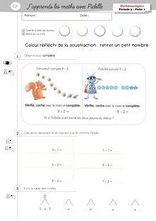 Mathématiques CP – J'apprends les maths avec Picbille - Noma Picbille Période 3