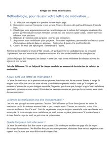 Lettre de motivation -  DEES Educateur Specialisé - helene BENOIT