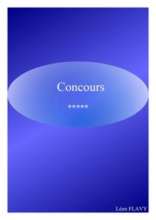 CONCOURS ENA PREPA - leon flavy
