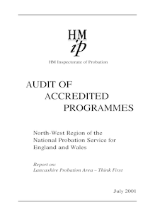 Lancs Audit report - final 23 October 2001