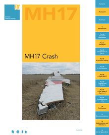 Crash MH17 : le rapport de l