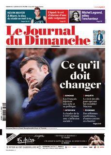 Le Journal du Dimanche du 27-01-2019 - Le Journal du Dimanche