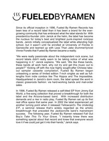 Fueled by Ramen Records biography