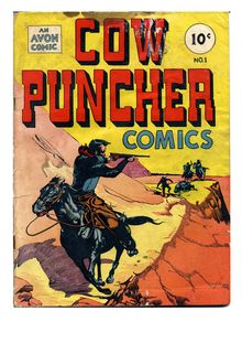 Cow Puncher Comics 001 (1947)-damaged