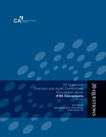 20 Questions Directors and Audit Committees Should Ask about IFRS  Conversions