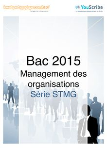 Corrigé - Bac 2015 - MDO - STMG