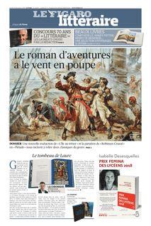 Figaro Littéraire du 20-12-2018