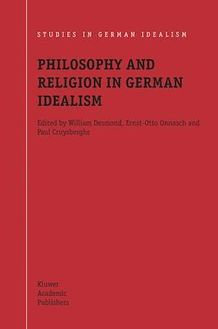 Philosophy and Religion in German Idealism