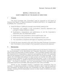 2004 Final Revised Audit Com Charter