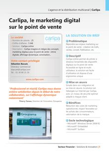 Carlipa, le marketing digital sur le point de vente