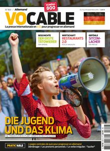 Magazine Vocable Allemand - Du 05 au 18 septembre 2019
