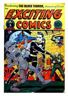 Exciting Comics 045 (diff ver-all paper) -JVJ de  - fiche descriptive