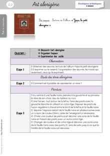 Arts Visuels CP/CE1 – Séquences - Autres séances Laure Art arborigène1