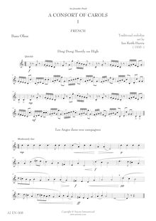 Partition basse hautbois, A Consort of chants, Harris, Ian Keith