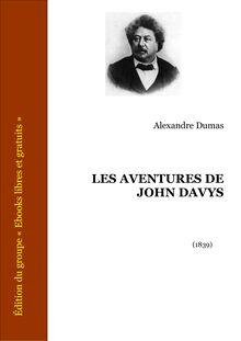 Les Aventures de John Davys