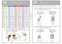 Mathématiques CP – Période 2 - Unité 4 Leçons