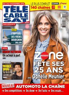 Télécâble Sat Hebdo du 01-11-2018 - Télécâble Sat Hebdo