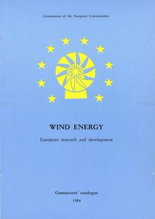 Wind energy. European research and development — Contractors