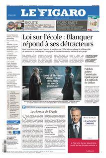 Le Figaro du 15-04-2019 - Le Figaro