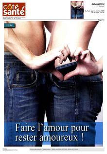 Lire : Faire l'amour pour rester amoureux