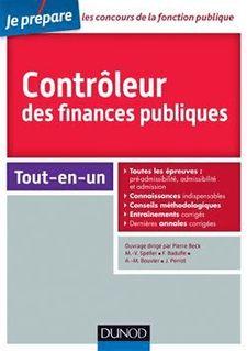 Controleur des finances publiques - Concours externe et interne - Collectif