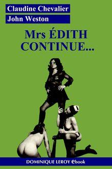 Lire : Mrs Édith continue...