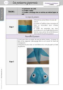 Arts Visuels CP/CE1 – Séquences - Autres séances Laure Poissons japonais