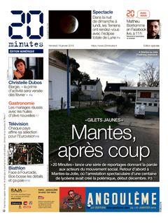 20 minutes Edition Nationale du 18-01-2019