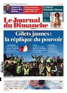 Le Journal du Dimanche du 18-11-2018 - Le Journal du Dimanche