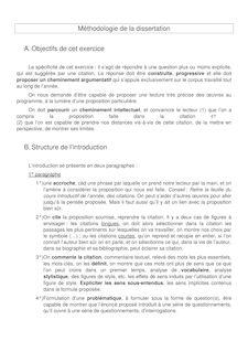 MPSI/PCSI - Français - Méthodologie de la dissertation
