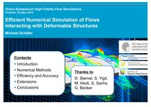 Onera Symposium High Fidelity Flow Simulations Chatillon October