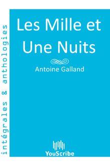 Lire Les Mille et Une Nuits de Antoine Galland