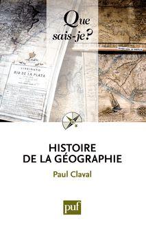 Lire Histoire de la géographie de Paul Claval
