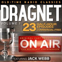 DRAGNET, VOLUME 1; 23-Episode Collection